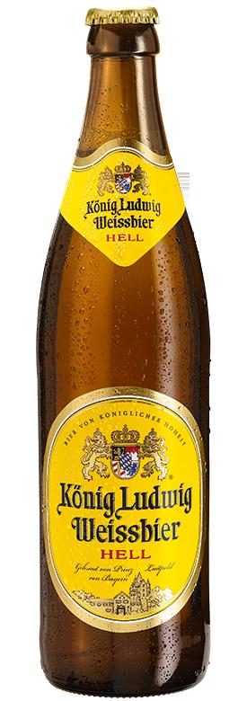 Eine Flasche König Ludwig Weissbier