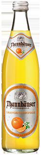 Eine Flasche Thannhäuser Orangen-Limonade