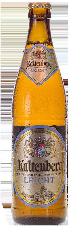 Eine Flasche Kaltenberg Leicht